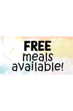 Free Meals Available Facebook Post
