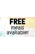 Free Meals Available Twitter Post