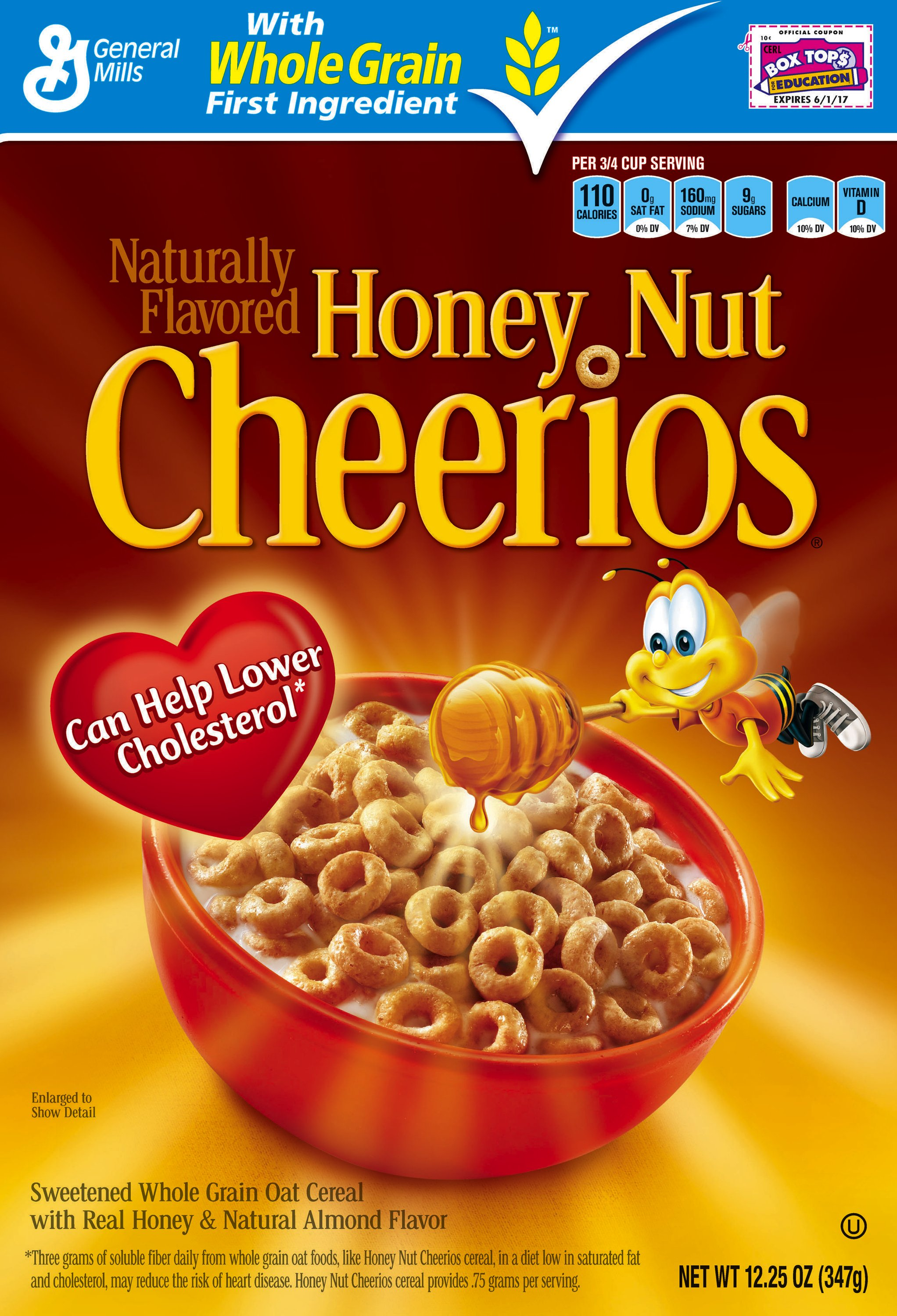 Honey nut cheerios box cereal general mills convenience and honey nut cheerios image ccuart Choice Image