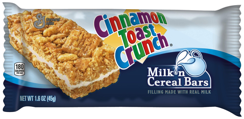milk 'n cereal bars cinnamon toast crunch™ 1.6oz 12ct   general