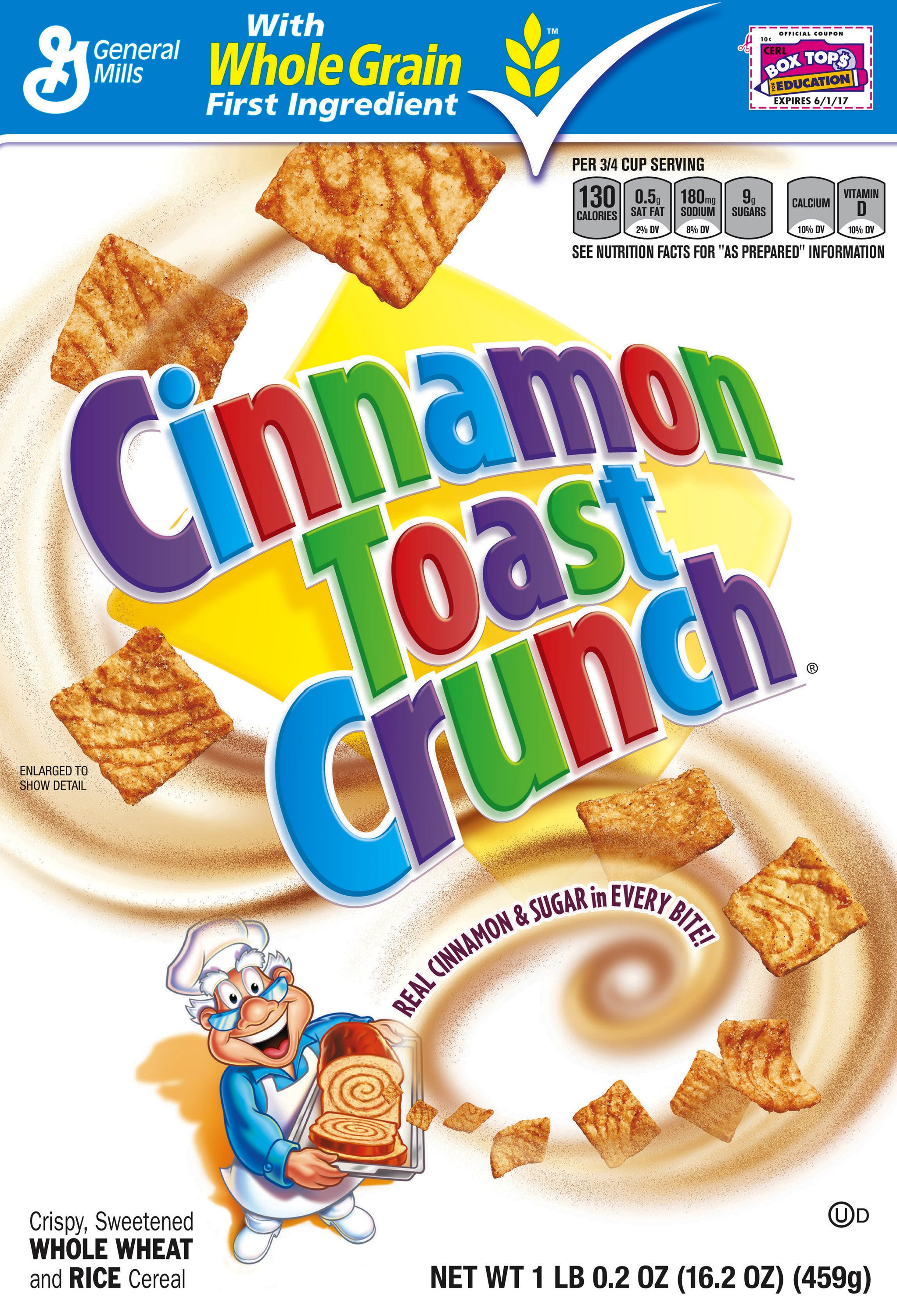 cinnamon toast crunch™ box cereal | general mills convenience and