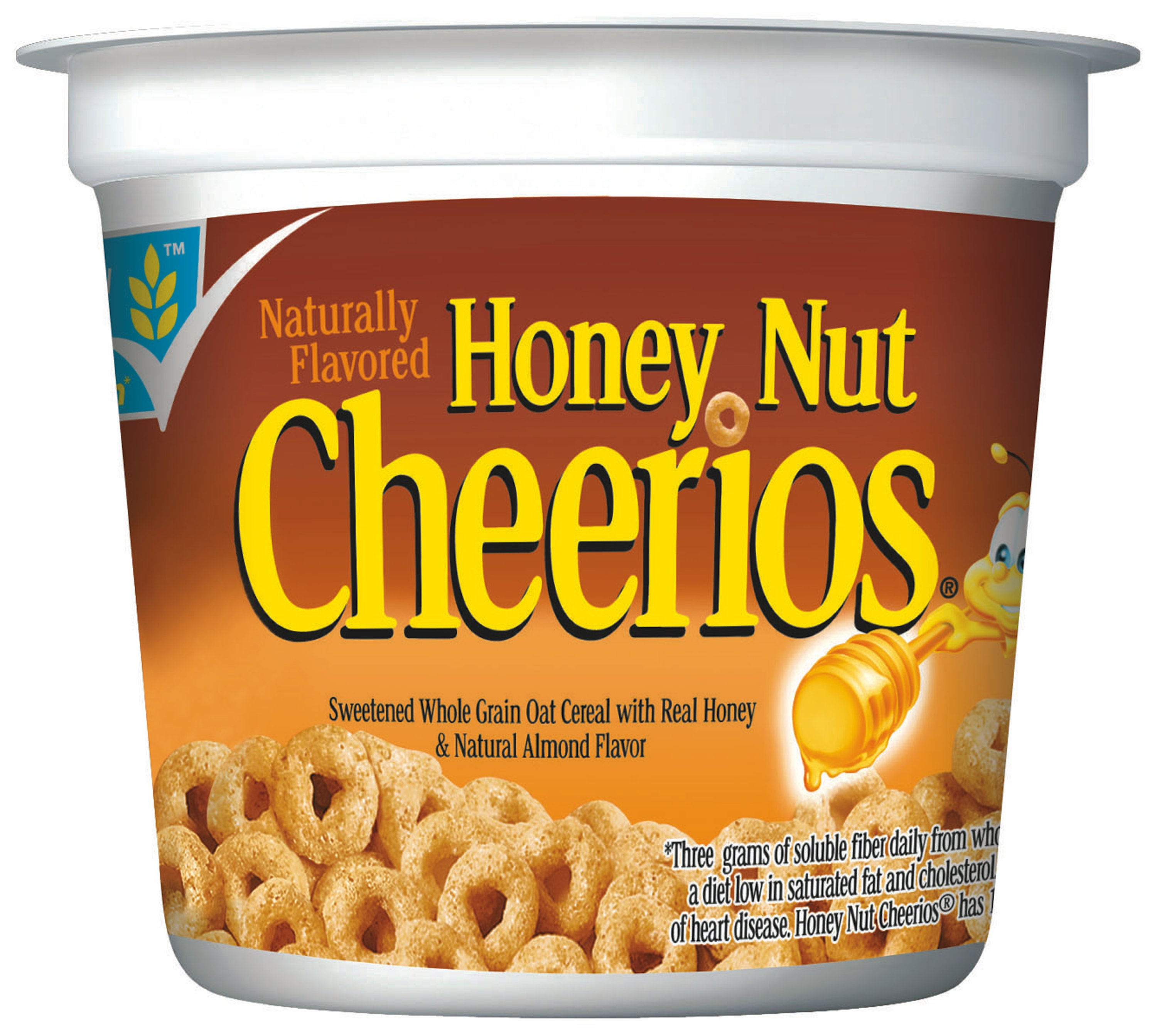 honey nut cheerios™ cup cereal 6ct | general mills convenience and