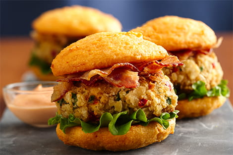 Crab Cake Whoopies