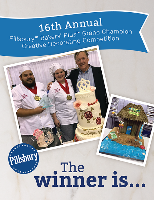 Introducing the Pillsbury Bakers' Plus Creative Decorating Competition Winners