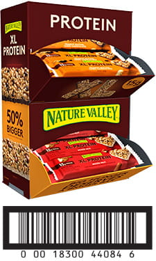 Nature Valley Product Codes