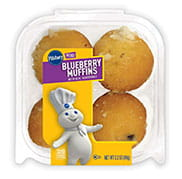 Pillsbury Mini Blueberry Muffins with Streusel