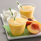Dreamy Peach Smoothies