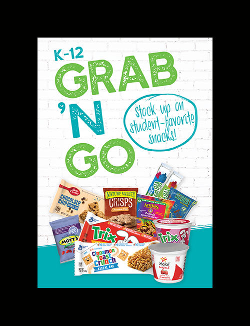 Grab and Go for Kids on the Move!