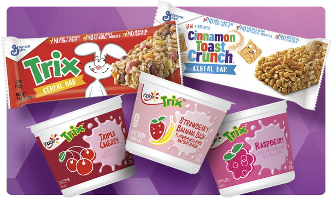Cereal Bars and Trix™ Yogurt