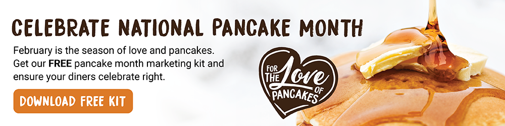 For the Love of Pancakes!