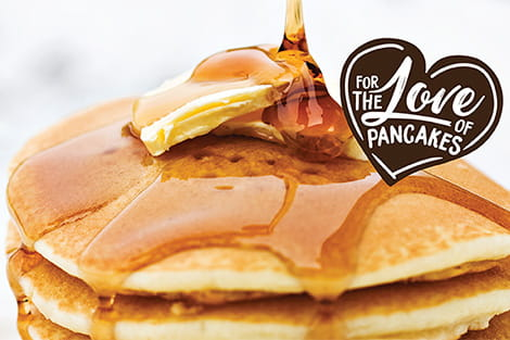 For the Love of Pancakes