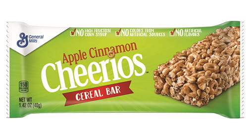 Apple Cinnamon Cheerios™ Cereal Bar | General Mills Convenience and Foodservice