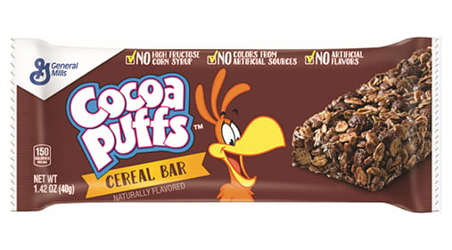 Cocoa Puffs Cereal Bar