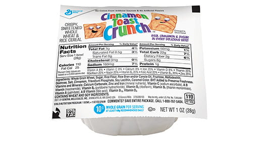 Cinnamon Toast Crunch™ Bowlpak Cereal | General Mills ...