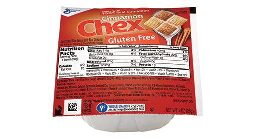 Cinnamon Chex™ Cereal Single Serve Bowlpak 1 oz