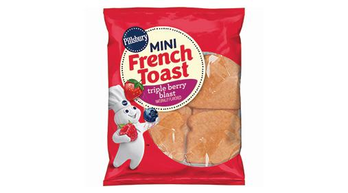 pillsbury u2122 mini french toast triple berry blast u2122