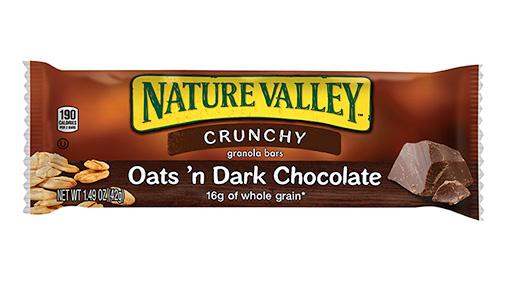 Nature Valley Oats And Dark Chocolate Gluten Free