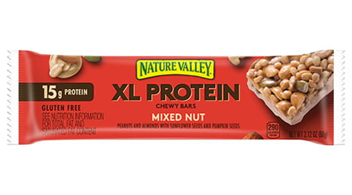 nature valley u2122 xl protein bar mixed nut
