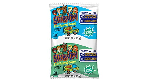 scooby doo fruit snacks are fruit bars healthy