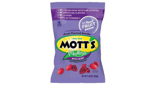 Mott's Fruit Shapes- Mixed Berry