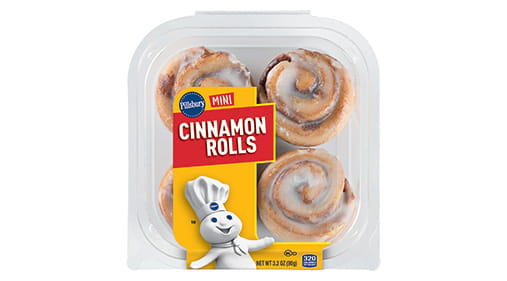 pillsbury minis cinnamon rolls general mills convenience and foodservice. Black Bedroom Furniture Sets. Home Design Ideas