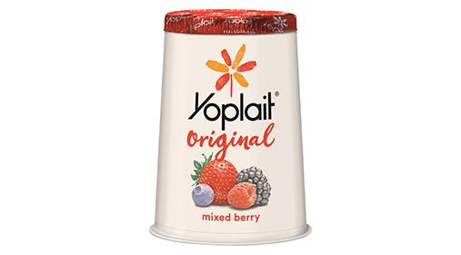 Yoplait® Original Yogurt Single Serve Cup Mixed Berry 6 oz   General Mills Convenience and Foodservice